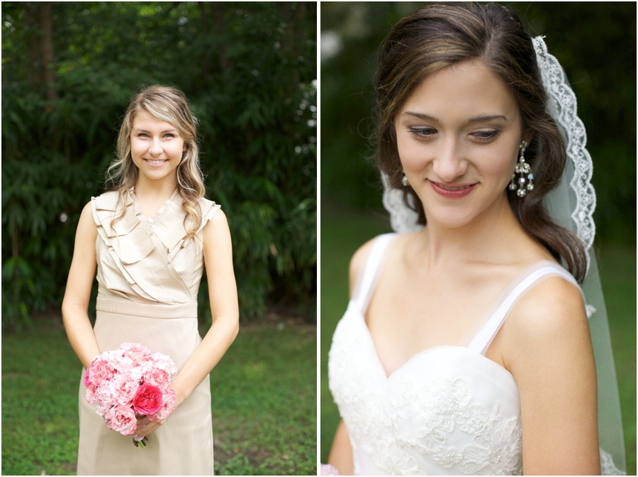 southern bridesmaids, beautiful bride, southern wedding photography, raleigh nc