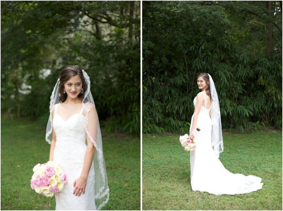 beautiful bridal photography, southern wedding photographers, raleigh nc