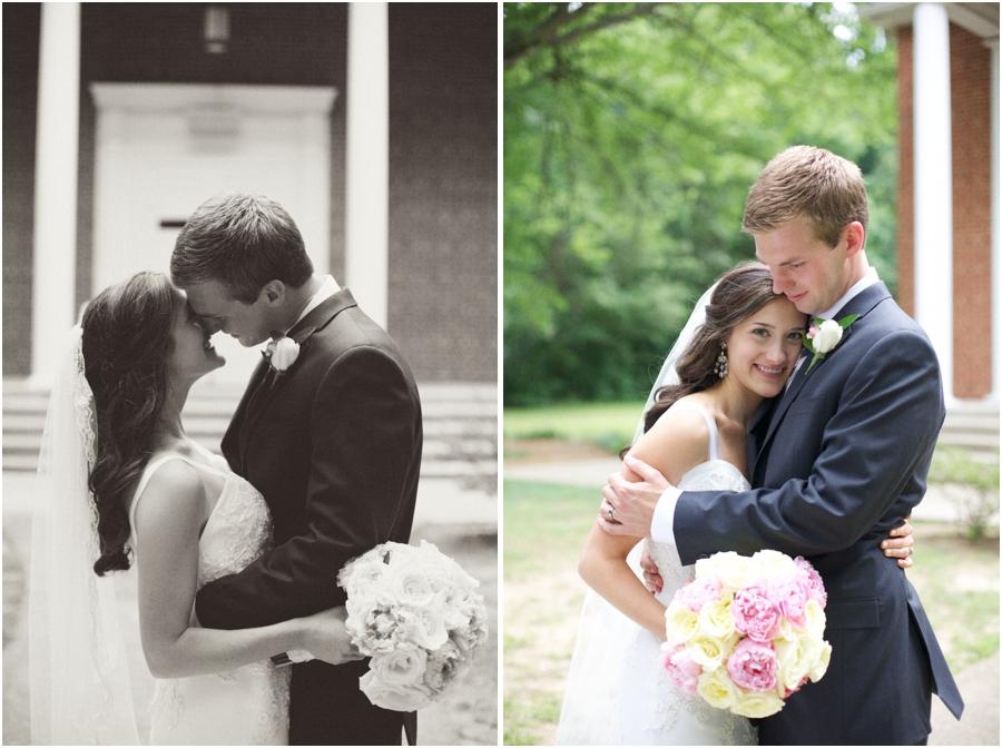 black and white wedding portraits, vintage wedding photographer, raleigh nc
