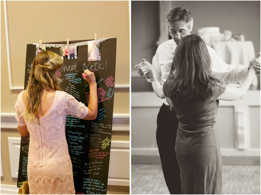 unique southern guestbook ideas, chalkboard guest book, vintage wedding photography