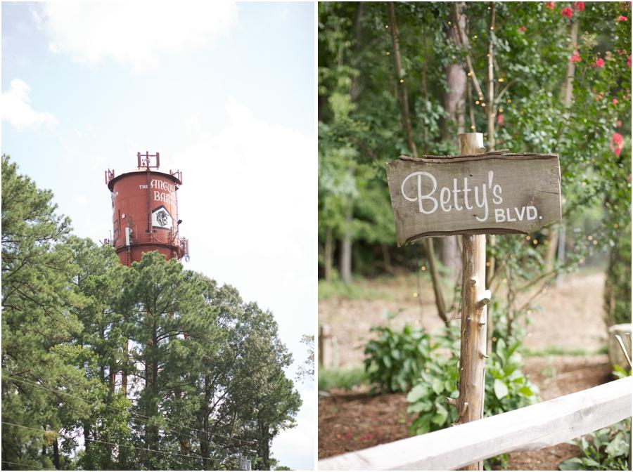angus barn water tower, angus barn wedding photography