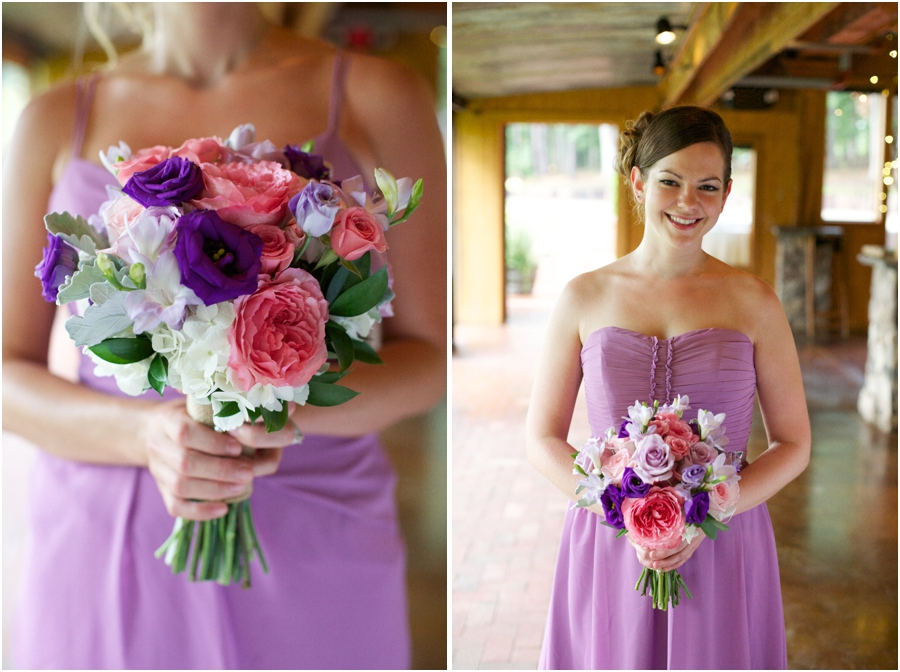 fresh bridesmaid bouquets, bridesmaid photography, raleigh nc