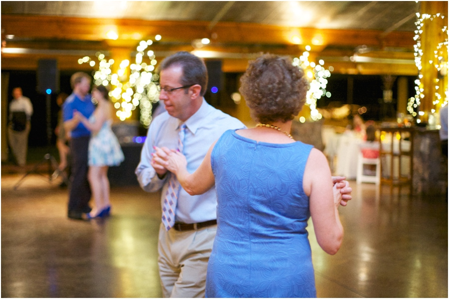 guests dancing at angus barn wedding reception, southern wedding photographers
