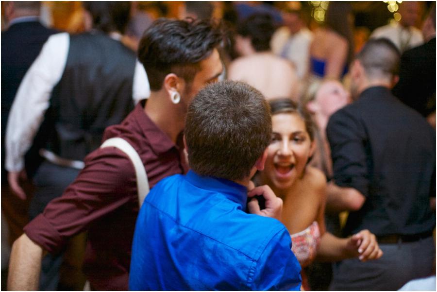 guests dancing at wedding reception, angus barn wedding photography