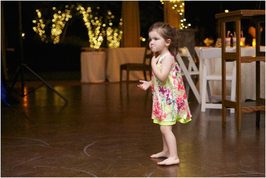 cute little girl at wedding reception, angus barn wedding photographers