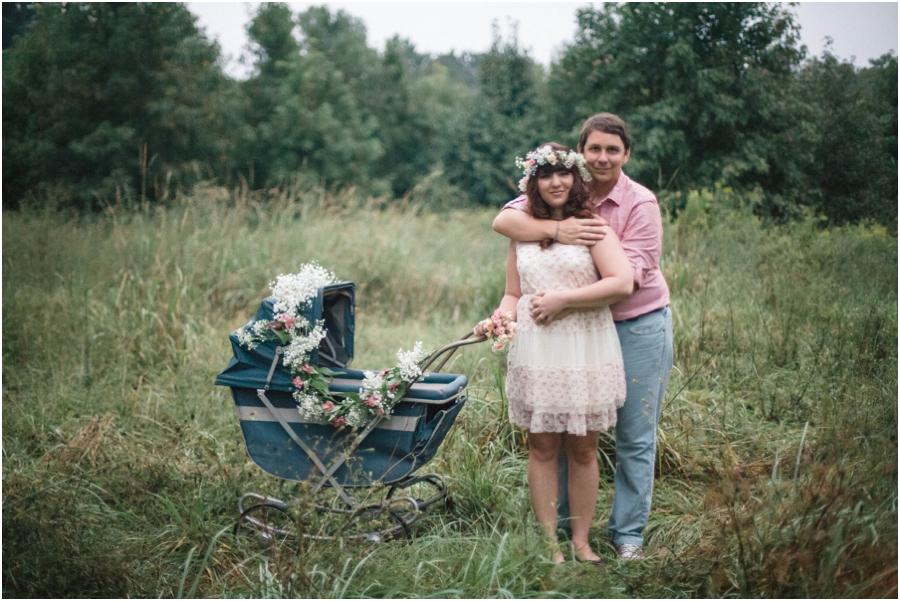 bohemian maternity photography