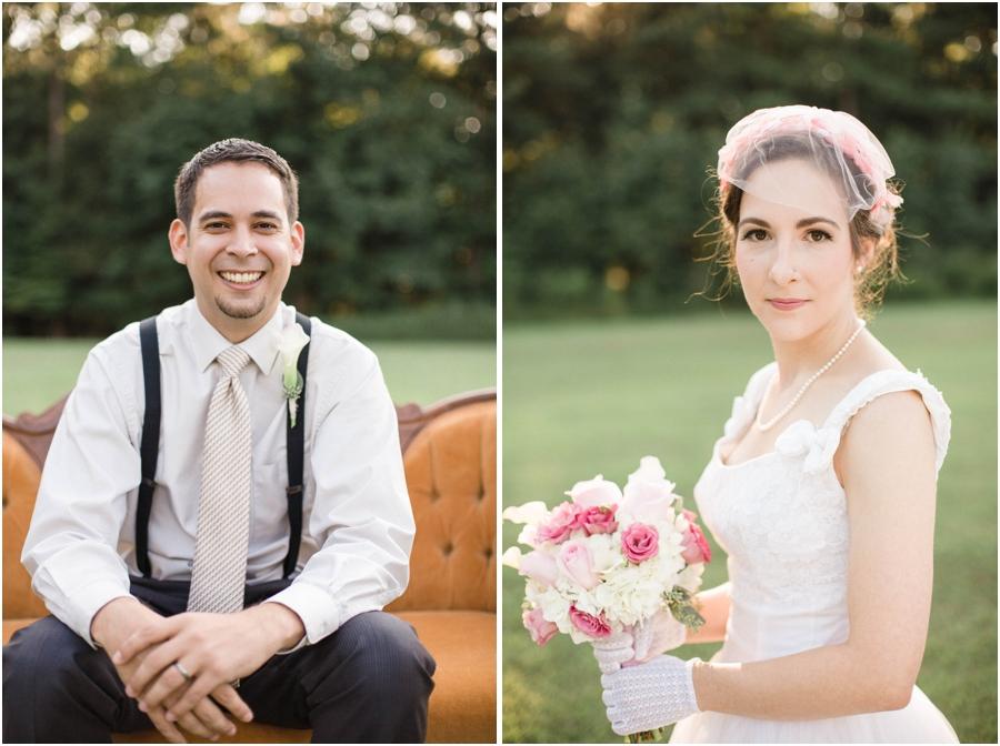 Vintage groom attire