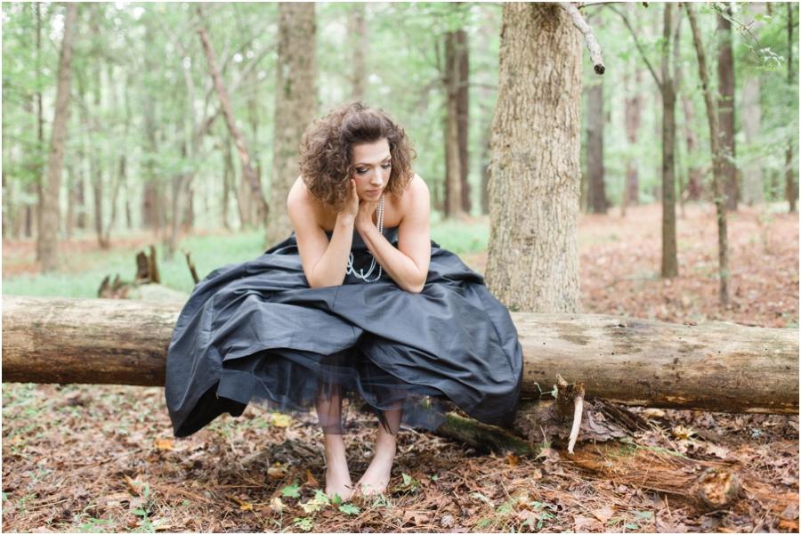 woodsy bohemian fashion photography, raleigh nc