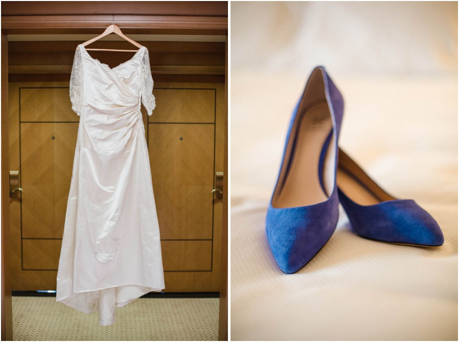 custom vintage wedding dress from edie kaye, bridal shoes, vintage wedding photographers