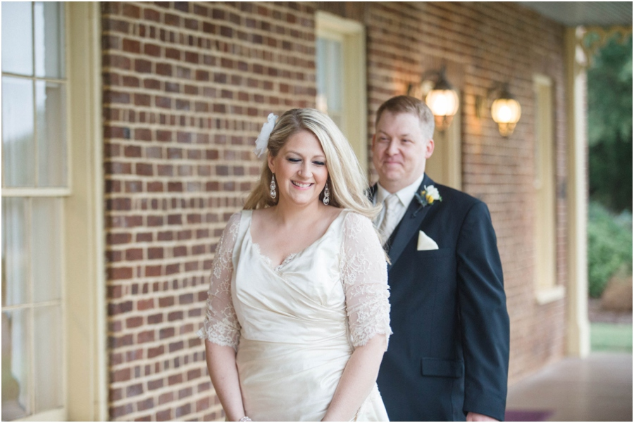 first look photography, southern vintage wedding photography, raleigh nc