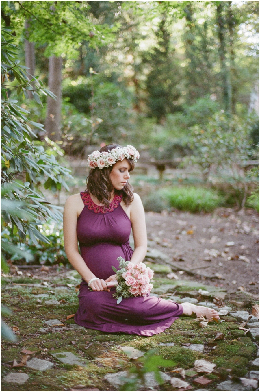 outdoor maternity photography, raleigh nc