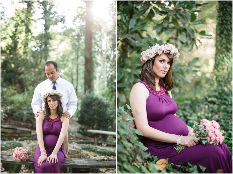 romantic maternity photography, southern maternity photographers