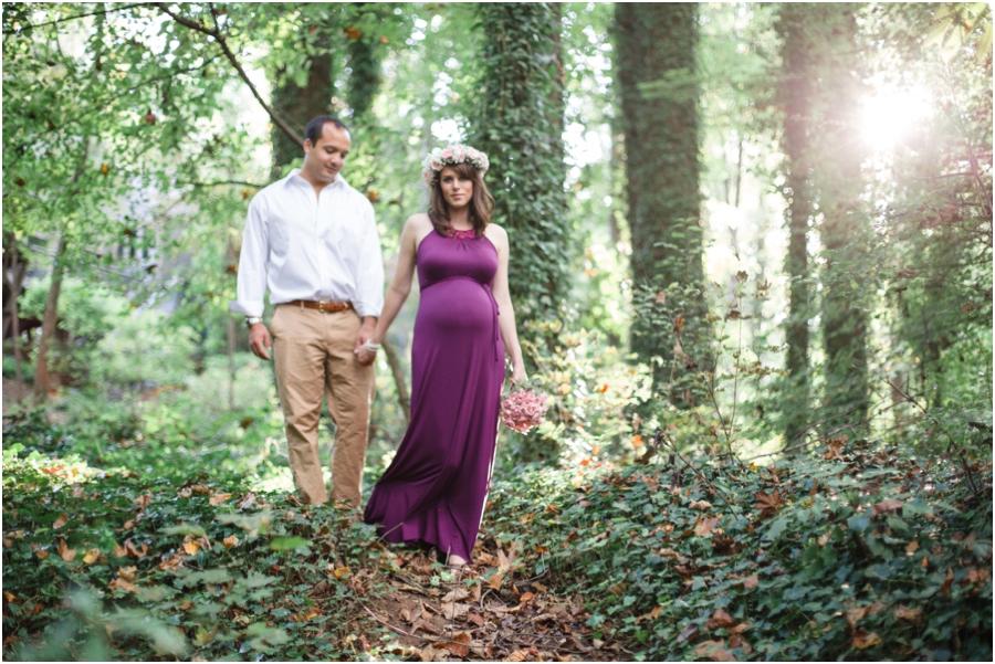 bohemian maternity photography, raleigh nc