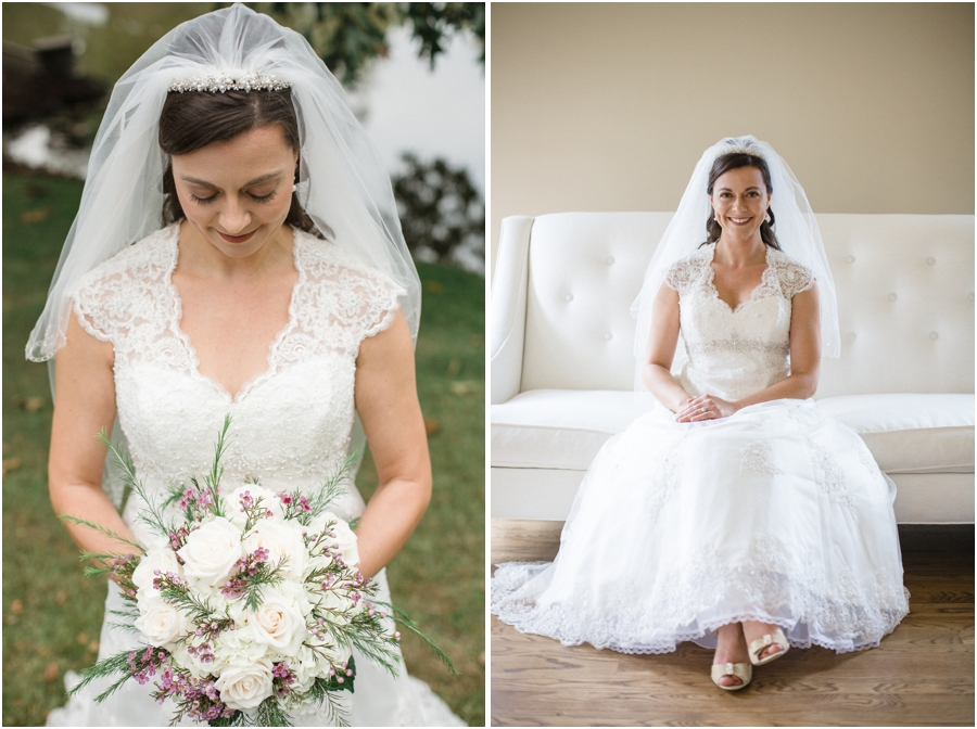 vintage bridal photography, southern wedding photographers