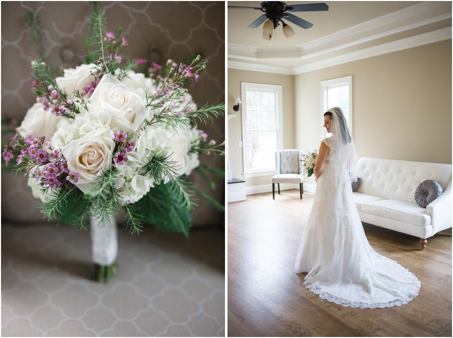 fresh flower bouquet, southern bridal photographers