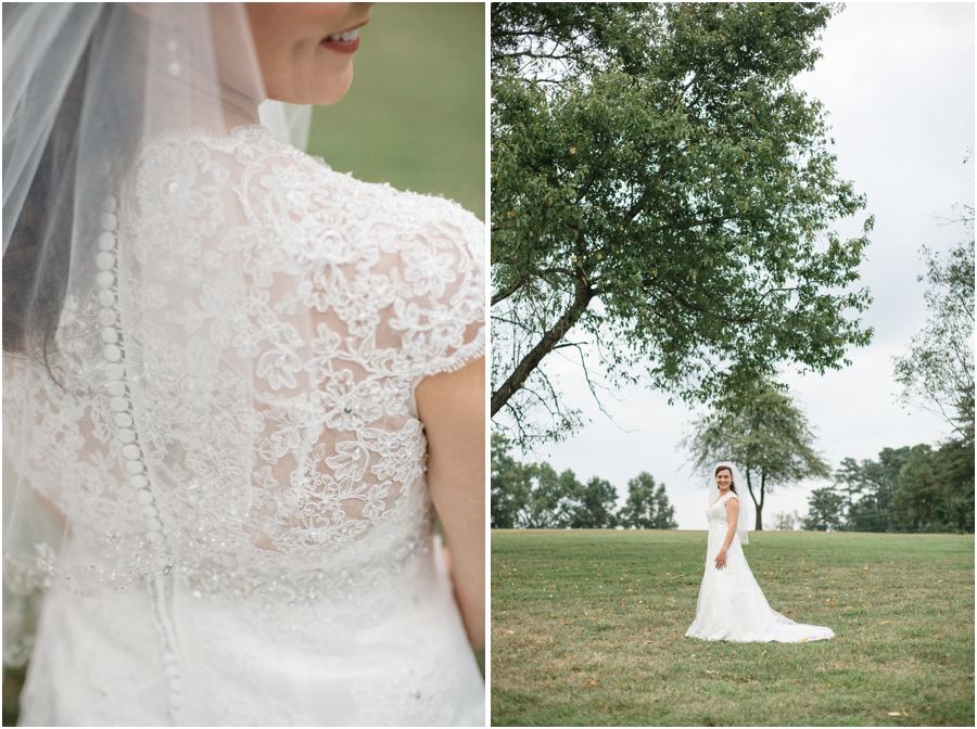 vintage wedding gown, southern bridal photography