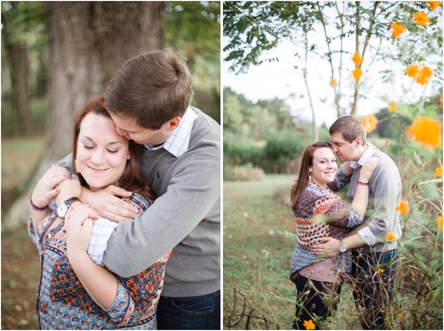 north carolina engagement photography, fall engagement photographers