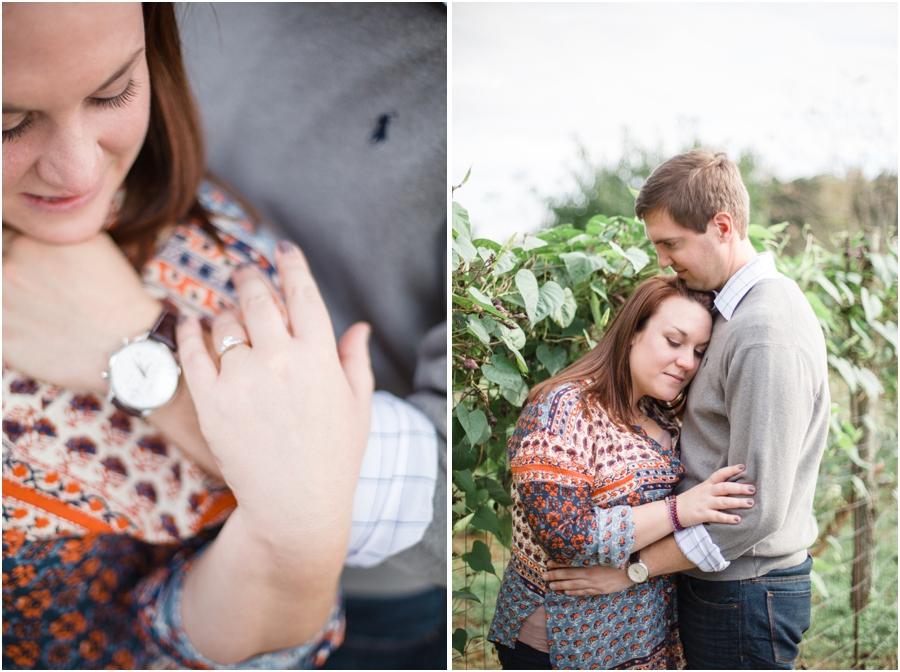 vintage engagement photography, romantic engagement photographers