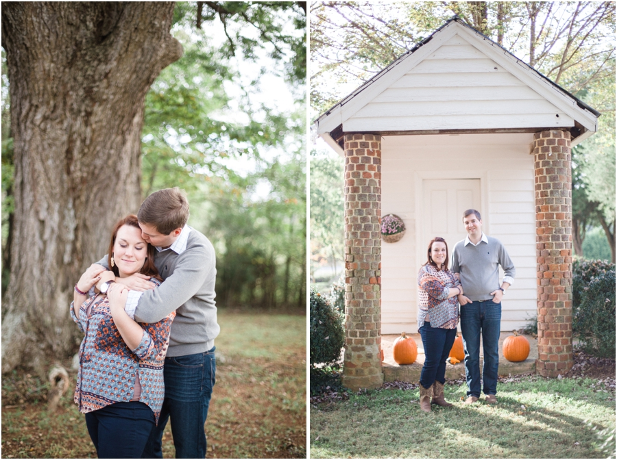 rustic fall engagement photography, southern engagement photographers