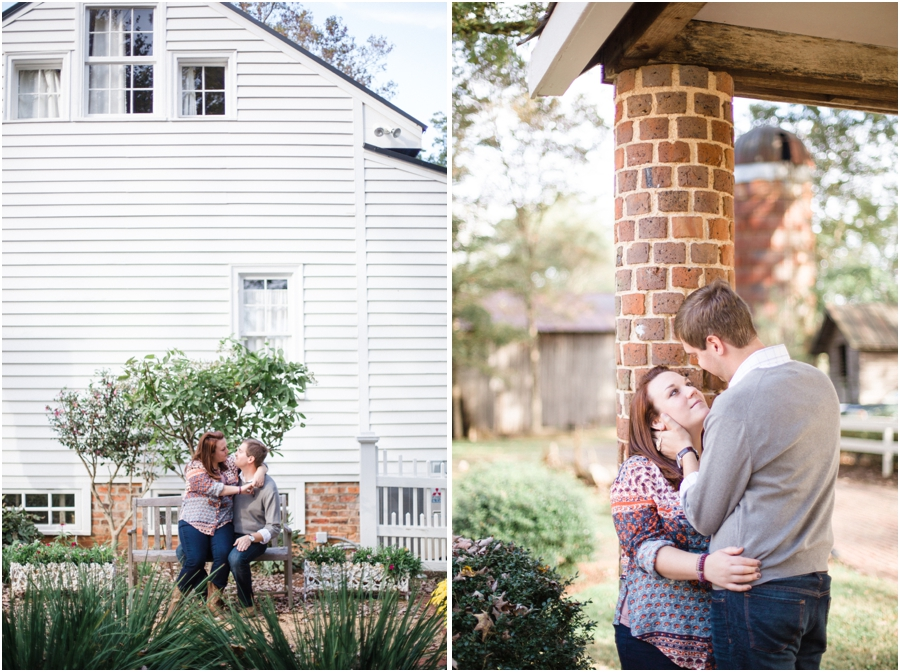 The Inn at Bingham School, southern engagement photography