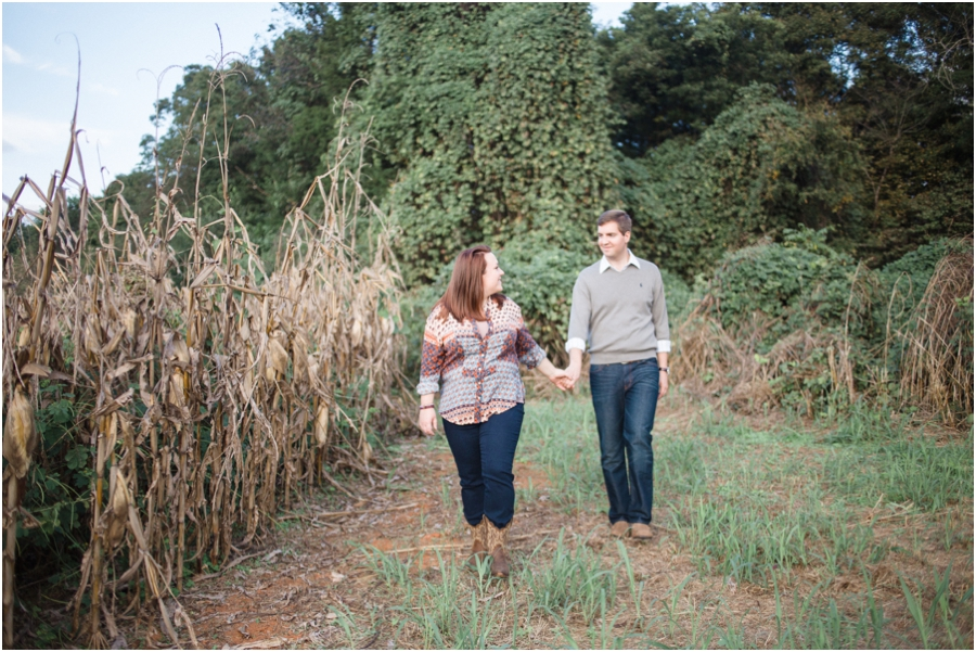 country engagement photography, raleigh nc