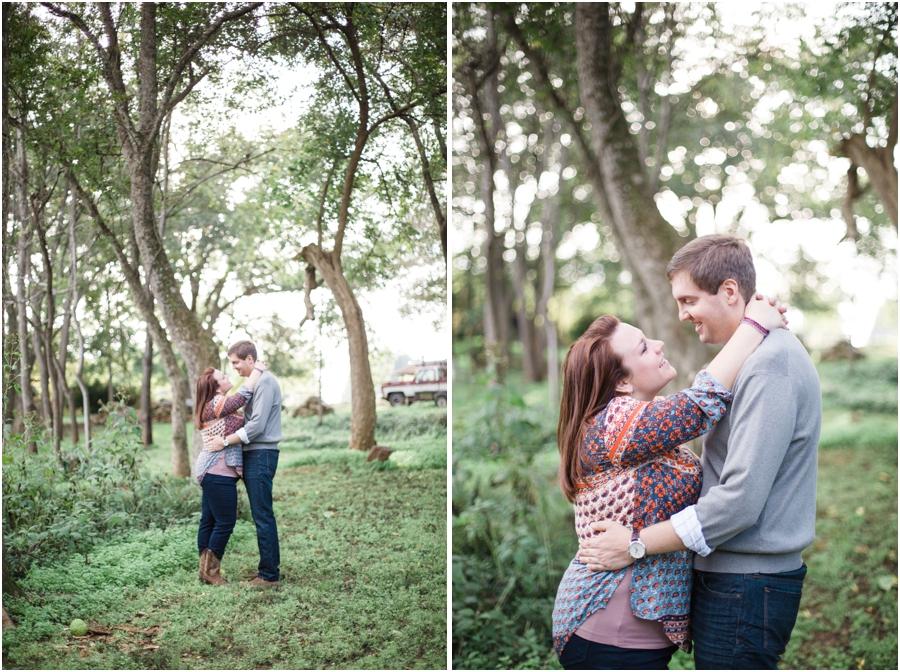 north carolina engagement photography, woodsy engagement photographers