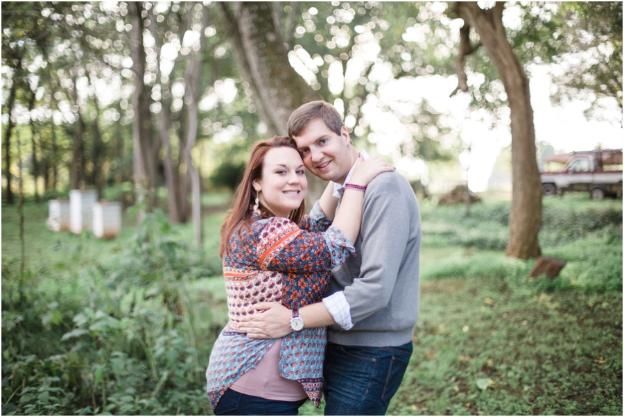 rustic engagement photography, raleigh nc