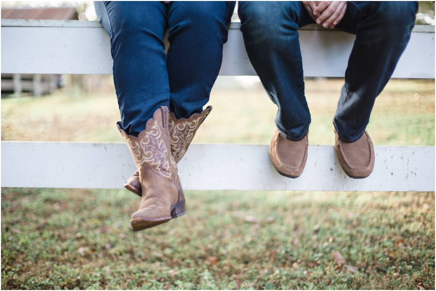 southern rustic engagement photography, raleigh nc