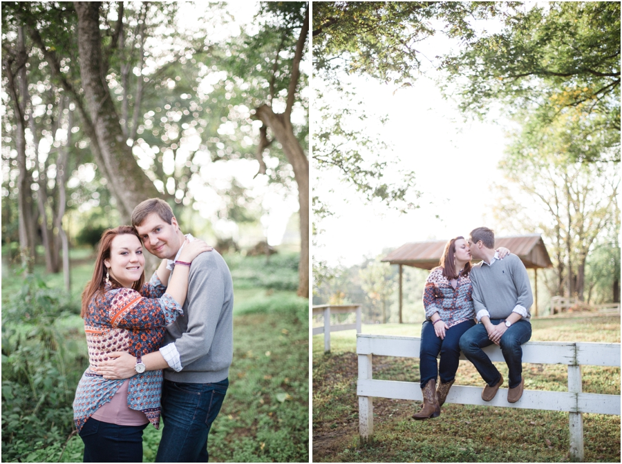 southern engagement photography, country engagement photographers