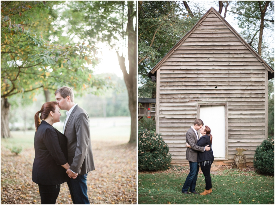 fall engagement photography, rustic engagement photographers