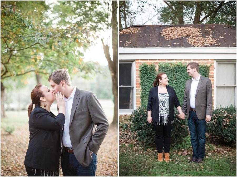 romantic engagement photography, southern engagement photographers
