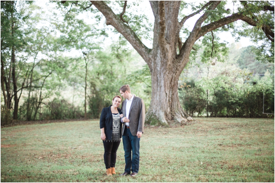 rustic engagement photographers, raleigh nc
