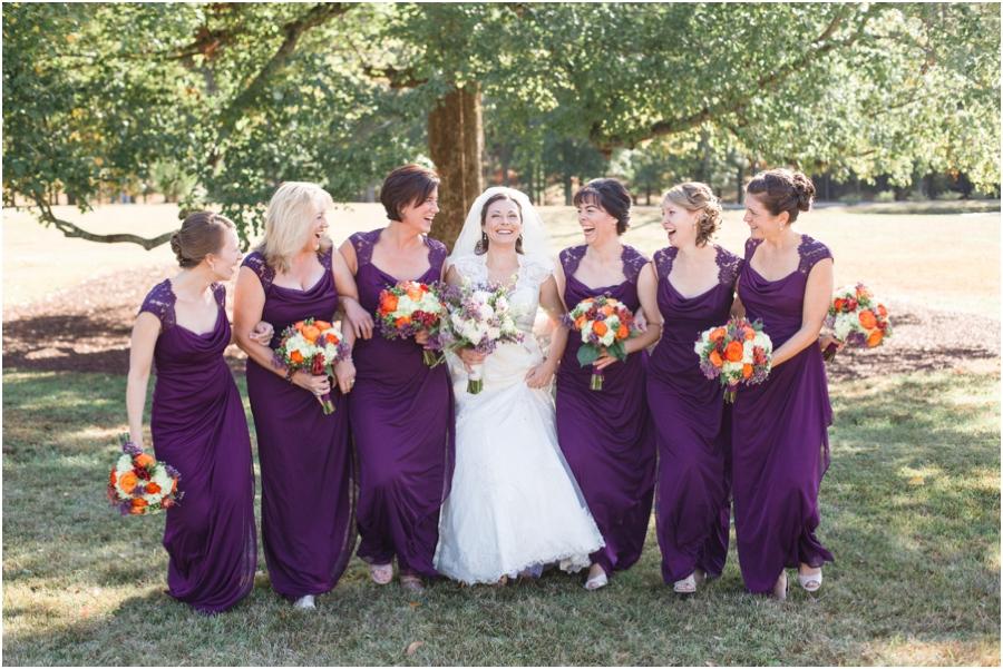 southern weddings, fun bridal party poses