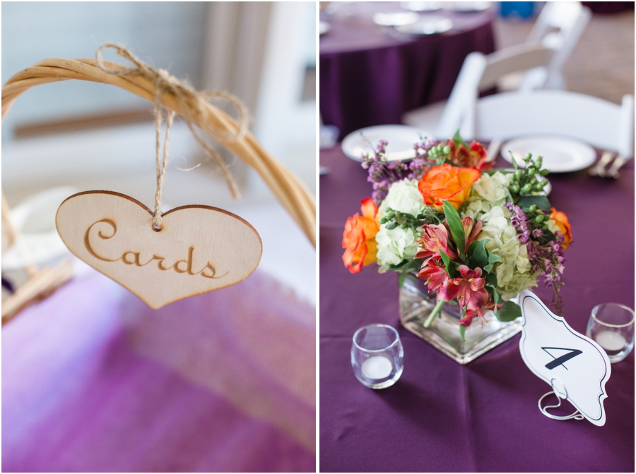 a basket for cards, southern wedding reception colors