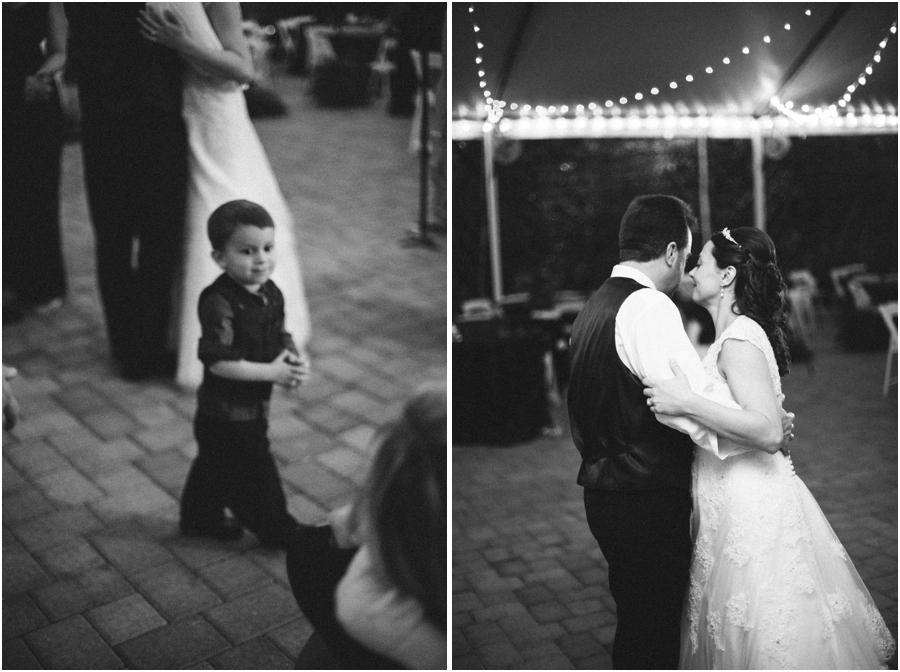 wedding reception photography, black and white wedding photography