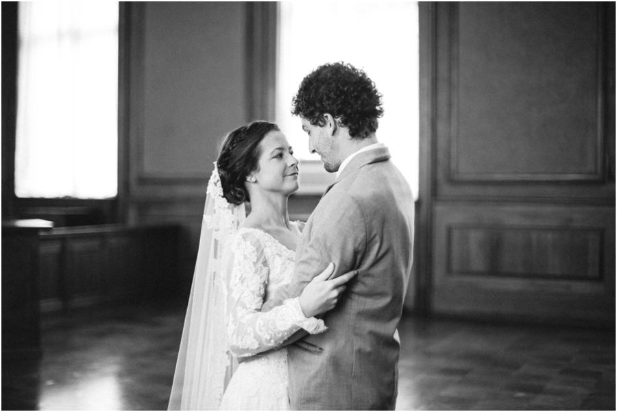 black and white wedding photography, winston-salem nc