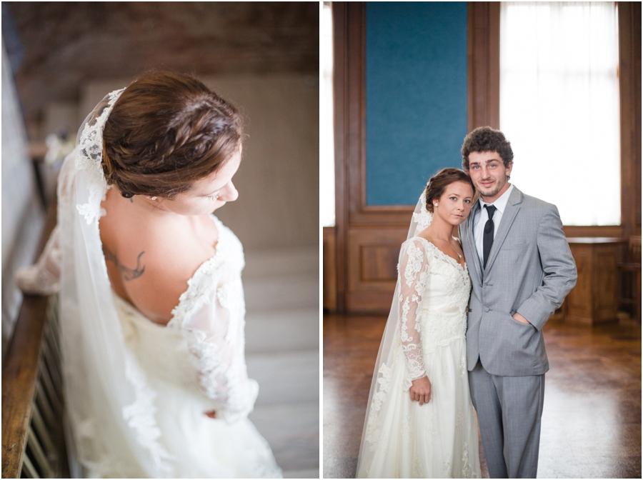 vintage bridal photography, winston-salem nc wedding photographers