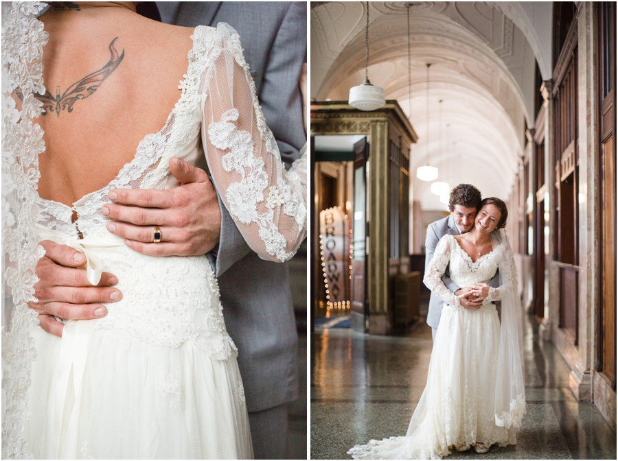 bride with tattoo, vintage bridal photography, southern wedding photographers
