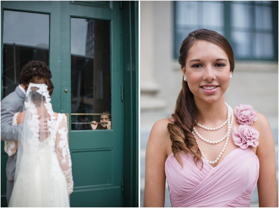 romantic wedding photography, southern bridesmaids