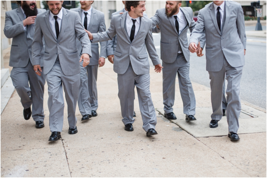 winston-salem nc groomsmen photography