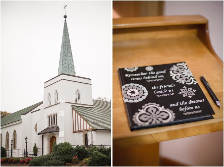 reynolda church in winston-salem nc, cute guestbook