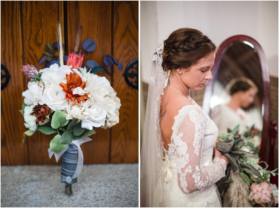 southern bridal bouquet, vintage bridal photography