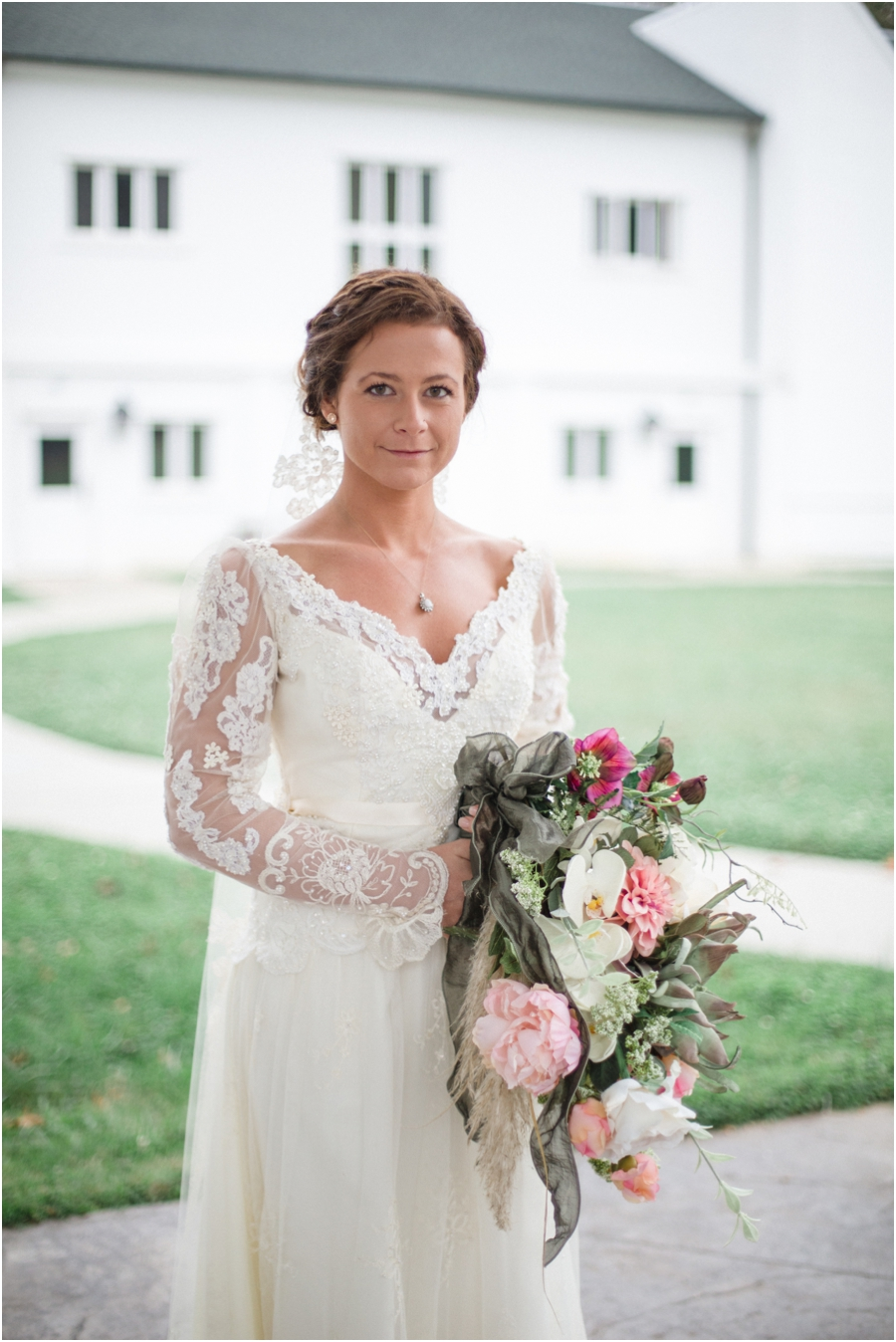 vintage bridal photography, winston-salem nc
