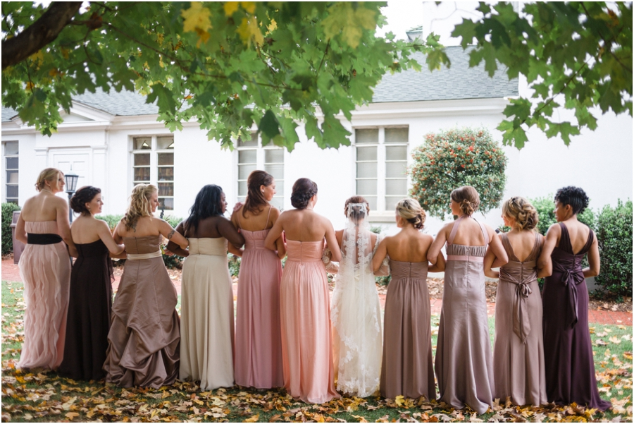 mismatched bridesmaid dresses, southern weddings