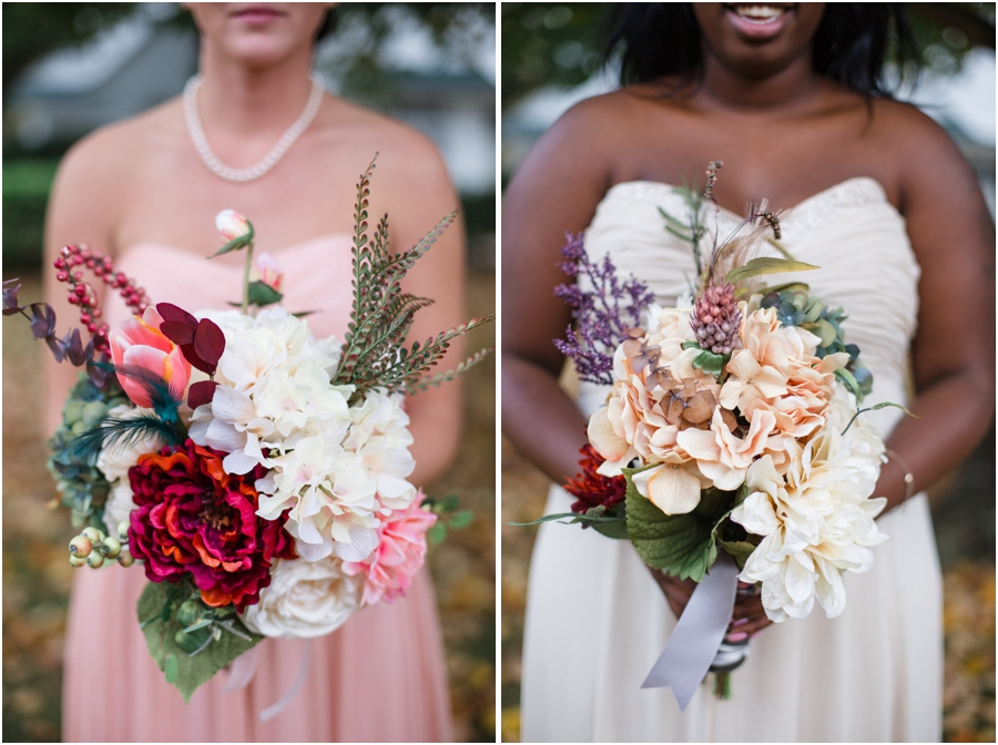 bridesmaid bouquets, southern weddings