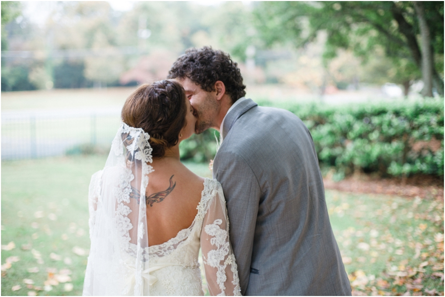 bride with tattoo, romantic wedding photography