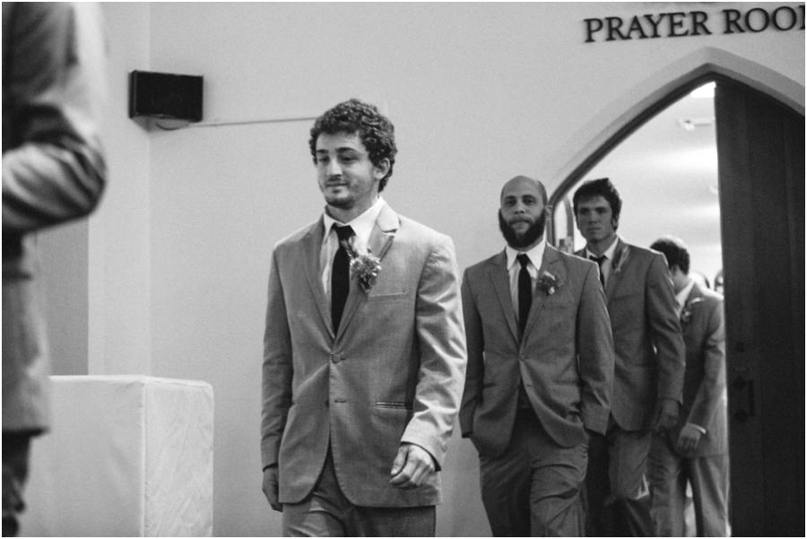 groomsmen entering the church, southern wedding photography