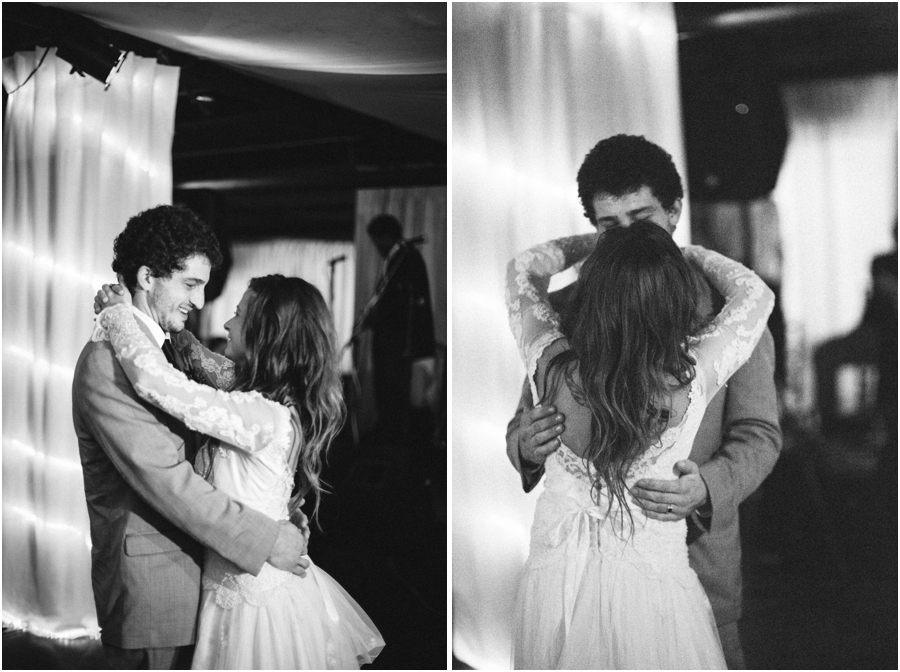 black and white reception photography, vintage raleigh nc wedding photographers