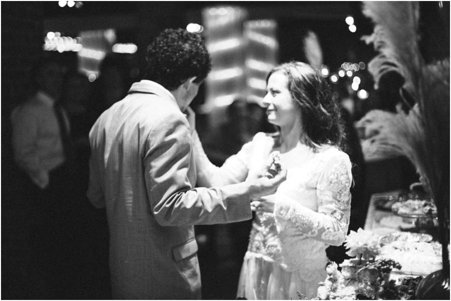 vintage wedding reception photography, winston-salem nc