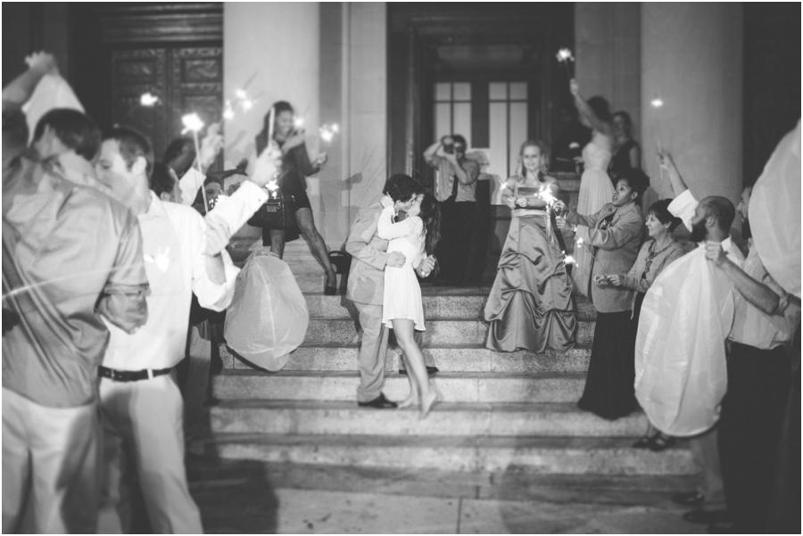 sparkler sendoff, vintage wedding photographers